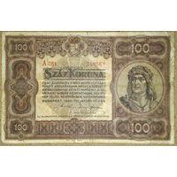 100 корон 1920г