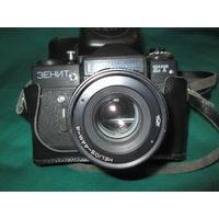 Фотоаппарат Зенит ЕТ с объективом Гелиос-44М-4.