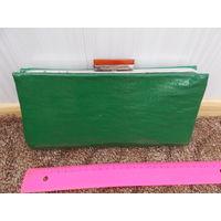Сумочка, клатч, сумка СССР женская, редкий зеленый цвет