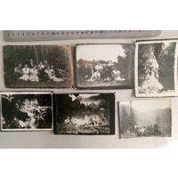 Фото довоенные, на отдыхе,30-е годы, 6 штук одним лотом