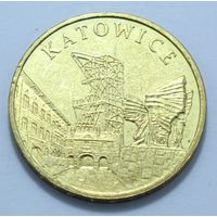 "Польша, 2 злотых 2010 год, ""Катовице"""