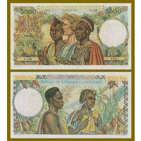 [КОПИЯ] Французская Западная Африка 5000 франков 1950