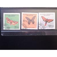 Магадаскар 1984 Бабочки