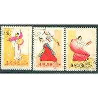 КНДР 1963 Народные танцы серия 3м гаш