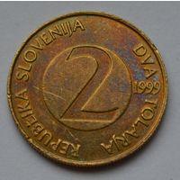 Словения 2 толара, 1999 г.
