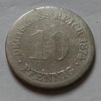 10 пфеннигов, Германия 1874
