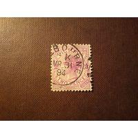 Штат Виктория 1886/96гг.(колония Британии в Австралии).Королева Виктория .