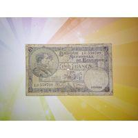 Бельгия 5 франков 1938г