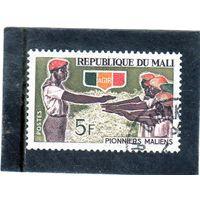 Мали. Mi:ML 132. Посвящение в скауты. Серия: скауты Мали. 1966.