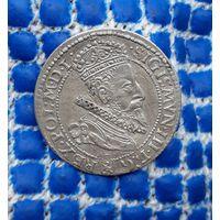 Польша , Zygmunt III Waza, 6 грошей 1599 год