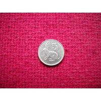 Зимбабве 5 центов 1996 г.
