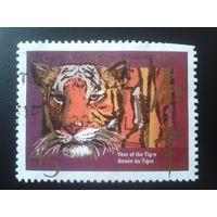 Канада 1998 год тигра