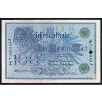 Германия / GERMANY_07.02.1908_100 Mark_P#34_aUNC