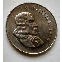 "ЮАР 20 центов, 1965 ""SUID-AFRIKA"" 3-2-17"