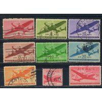 США Авиапочта 1941-8  Почтовые самолеты Полная #500-6,549,552