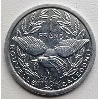 Новая Каледония 1 франк 2002