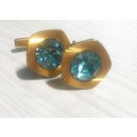 Запонки с голубым камнем, СССР