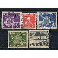 Швеция 1944 300 лет датско-шведского морского сражения при Фемарна Полная #306-10