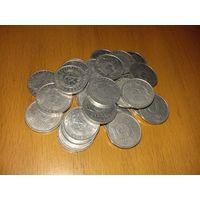 27 монет по 5 пфеннигов ГДР одним лотом