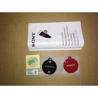 NFC метки Sony Xperia SmartTags NT1 (чёрная и красная)