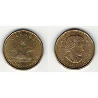 W: Канада 1 доллар 2015 (546)