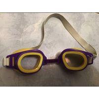 Очки для плавания СССР детские с регулировкой расстояния на носу