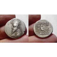 Парфянское царство, Готарз I-Синатрук, драхма, 93-70 гг до н.э., г. Раги