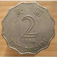 Гонконг,2доллара1994г.