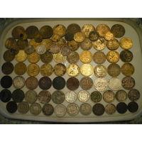 Монеты СССР, дореформенные, 81 штука. Фото внутри.