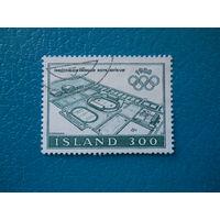 Исландия. 1980 г. Мi-556. Олимпийские игры. Москва.