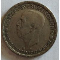 Швеция 1 крона 1943 серебро