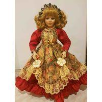 Фарфоровая кукла Кате, коллекционная (42 см)