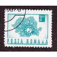1971 Румыния Коммуникации Телефонная связь стандарт марки