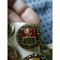 Значок СССР. Золотое кольцо. Гороховец.