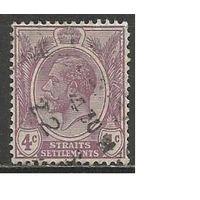 Стрейтс и Сетлментс. Король Георг V. 1922г. Mi#177.