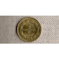 Гондурас 5 сентаво 2007(dic)