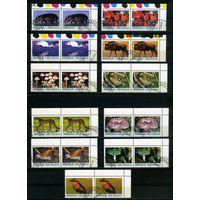 Ангола 1999г, флора и фауна, 22м. по парам