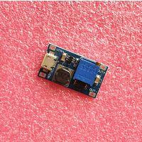 Преобразователь повышающий, блок питания с MICRO USB от 2V-24V до 5-28В 2А MT3608