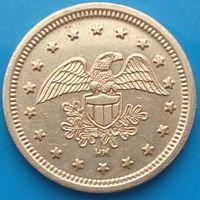 Токен - NO CASH VALUE -жетон с орлом( правильно выглядящий орел ) - 4 ый разновид