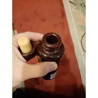 Бутылочка от рижского бальзама, с пробкой, без дефектов.