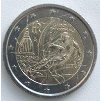 2 евро Италия 2006г. 20-ые зимние Олимпийские игры в Турине