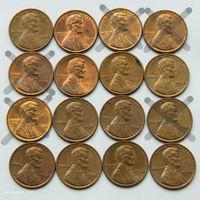 1 цент США 1974. Поштучно