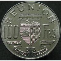 Реюньон 100 франков 1964