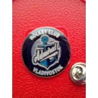"Значок с Логотипом Хоккейного Клуба ""Адмирал"" Владивосток."