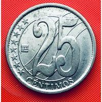 14-16 Венесуэла, 25 сентимо 2007 г.