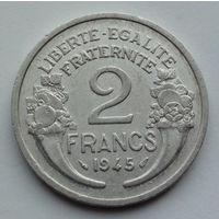 Франция 2 франка. 1945