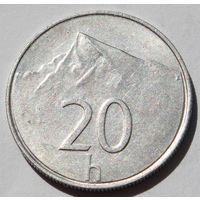 Словакия 20 геллеров, 1997 г.
