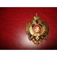 Значок Российский имперский орёл со св. Георгием (большой)