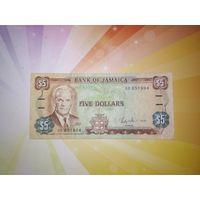 Ямайка 5 долларов