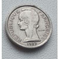 Франция, Телефонный жетон 1937  4-1-48